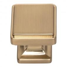 "Kate Cabinet Knob (1-1/8"") - Warm Brass (A200-WB) by Atlas Homewares"
