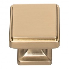 "Kate Cabinet Knob (1-1/4"") - Warm Brass (A201-WB) by Atlas Homewares"