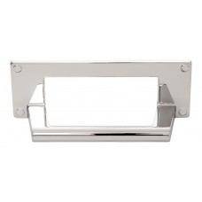 "Bradbury Cup Bin Pull (3"" cc) - Polished Chrome (A301-CH) by Atlas Homewares"