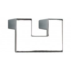 "U Turn Cabinet Knob (1-7/8"") - Polished Chrome (A845-CH) by Atlas Homewares"