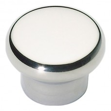 """Round Cabinet Knob (1-1/4"""") - Polished Stainless Steel (A856-PS) by Atlas Homewares"""