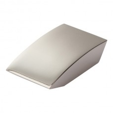 "Angled Drop Cabinet Knob (15/16"") - Polished Nickel (A903-PN) by Atlas Homewares"