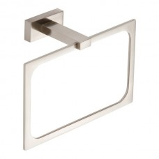 Axel Towel Ring Bath Hardware - Brushed Nickel (AXTR-BRN) by Atlas Homewares