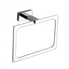 Axel Towel Ring Bath Hardware - Polished Chrome (AXTR-CH) by Atlas Homewares