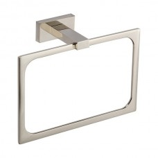 Axel Towel Ring Bath Hardware - Polished Nickel (AXTR-PN) by Atlas Homewares