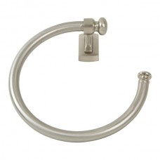 Legacy Towel Ring Bath Hardware - Brushed Nickel (LGTR-BRN) by Atlas Homewares