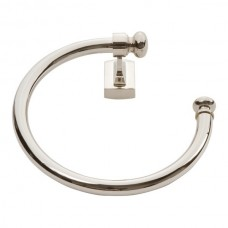 Legacy Towel Ring Bath Hardware - Polished Nickel (LGTR-PN) by Atlas Homewares