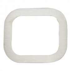 Paragon #0 House Number - Stainless Steel (PGN0-SS) by Atlas Homewares