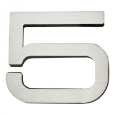 Paragon #5 House Number - Stainless Steel (PGN5-SS) by Atlas Homewares