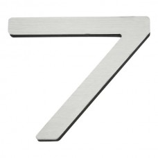 Paragon #7 House Number - Stainless Steel (PGN7-SS) by Atlas Homewares