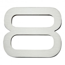 Paragon #8 House Number - Stainless Steel (PGN8-SS) by Atlas Homewares