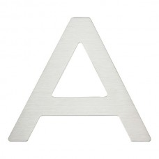 Paragon Letter A House Number - Stainless Steel (PGNA-SS) by Atlas Homewares