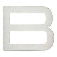 Paragon Letter B House Number - Stainless Steel (PGNB-SS) by Atlas Homewares