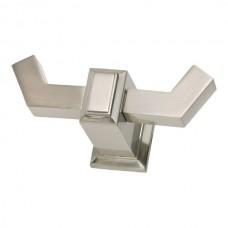 Sutton Place Double Hook Bath Hardware - Brushed Nickel (SUTTH-BRN) by Atlas Homewares