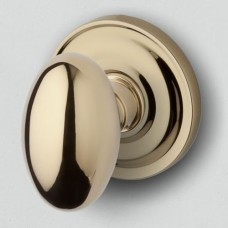 Egg Knob w/ 5048 Rosette (5025) by Baldwin Estate