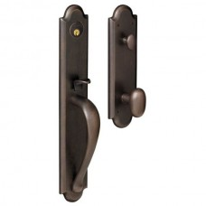 Boulder Entry Set w/ 5024 Oval Knob (6402) by Baldwin Estate