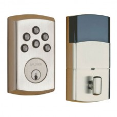 Soho Keyless Deadbolt (8285-AC1) by Baldwin Estate