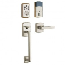 Soho Keyless Entry Set w/ 5485V Soho Lever (8285-AC1/85386-AC) by Baldwin Estate