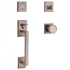 Hollywood Hills Entry Set w/ K008 Knob (85310) by Baldwin Estate