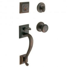 Madison Entry Set w/ 5015 Classic Knob (85320) by Baldwin Estate