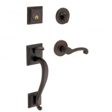 Madison Entry Set w/ 5445V Classic Lever (85320) by Baldwin Estate