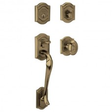 Bethpage Entry Set w/ 5077 Bethpage Knob (85327) by Baldwin Estate