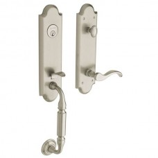 Manchester Entry Set w/ 5455V Wave Lever (85350) by Baldwin Estate