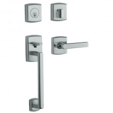 Soho Entry Set w/ 5485V Soho Lever (85386) by Baldwin Estate