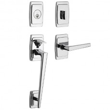 Palm Springs Entry Set w/ L024 Lever (85395) by Baldwin Estate