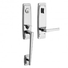 Palm Srpings Entry Set w/ L024 Lever (85396) by Baldwin Estate