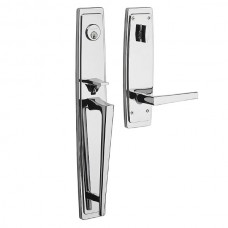 Palm Srpings Entry Set w/ L024 Lever (85397) by Baldwin Estate
