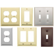 Beveled Edge Switch Plates (Various Layouts) by Baldwin Estate