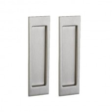 Santa Monica Large Dummy Pocket Door Lock Set (PD005) by Baldwin Estate