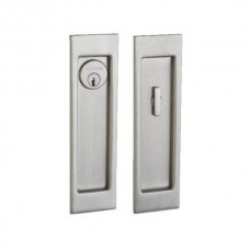 Santa Monica Large Keyed Pocket Door Lock Set (PD005) by Baldwin Estate