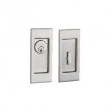 Santa Monica Small Keyed Pocket Door Lock Set (PD006) by Baldwin Estate