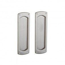 Palo Alto Dummy Pocket Door Lock Set (PD007) by Baldwin Estate