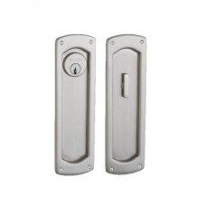 Palo Alto Keyed Pocket Door Lock Set (PD007) by Baldwin Estate