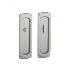 Palo Alto Privacy Pocket Door Lock Set (PD007) by Baldwin Estate