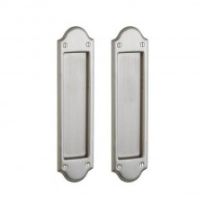 Boulder Dummy Pocket Door Lock Set (PD016) by Baldwin Estate