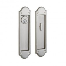 Boulder Keyed Pocket Door Lock Set (PD016) by Baldwin Estate