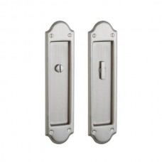Boulder Privacy Pocket Door Lock Set (PD016) by Baldwin Estate