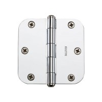 "3-1/2"" Hinges w/ 5/8"" Radius Corners (9BR7024) by Baldwin Reserve"