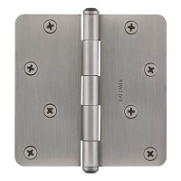 "4"" Hinges w/ 1/4"" Radius Corners (9BR7026) by Baldwin Reserve"