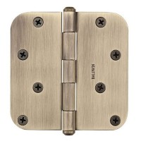 "4"" Hinges w/ 5/8"" Radius Corners (9BR7027) by Baldwin Reserve"