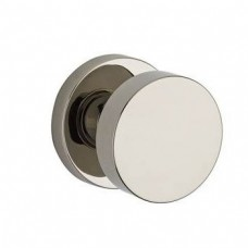 Contemporary Door Knob Set w/ Contemporary Round Rosette (CON) by Baldwin Reserve