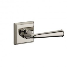 Traditional Federal Door Lever Set w/ Traditional Square Rosette (FED) by Baldwin Reserve