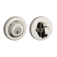 Contemporary Round Deadbolt (CRD) by Baldwin Reserve