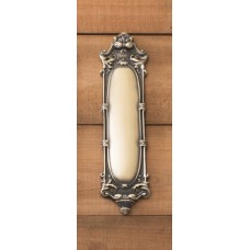 Victorian Push Plate (A05-P4450) by Brass Accents
