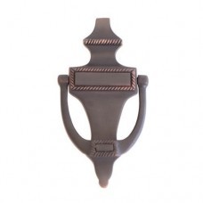 Rope Door Knocker (A06-K0400) in Various Finishes by Brass Accents