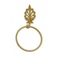 European Collection Towel Ring (B04-C5270) in Various Finishes by Brass Accents